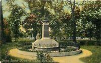 Columbus Ohio~Wrought Iron Fence Around Lincoln Goodale Monument~Park~1910