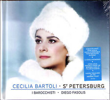 Cecilia populaires: St-Pétersbourg LIMITED DELUXE EDITION CD Diego Fasolis Araia NEUF