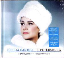 Cecilia BARTOLI: ST PETERSBURG Limited Deluxe Edition CD Diego Fasolis Araia NEU