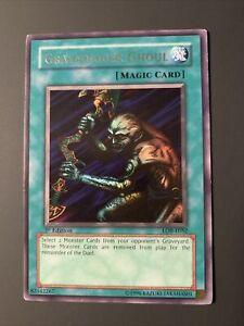 Yugioh Card Gravedigger Ghoul LOB-E052 Rare 1st Edition - See Photos