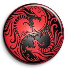 Badge Epingle 38mm Button Pin - Fantastique - Dragon 2
