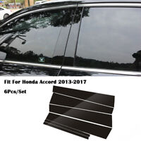 Chrome Outer Door Oepn Handle Cover Without Smart Hole Fit Honda Accord 2013-17