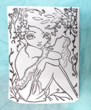 Ching Chou Kuik Spring Spread rubber stamp unmounted die fantasy girl claw hands