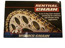 Honda Renthal R1 Gold 520 X 118 L Heavy Duty chain CR250 CR500 CR125 XR400