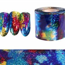 Fashion Gradient Starry Sky Nail Art Foil Paper Manicure Sticker Decal Tips DIY