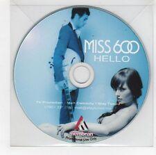 (GI81) Miss 600, Hello - DJ CD