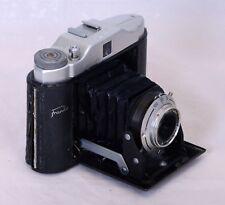 FRANKA Solida Jr. VINTAGE Folding Film Camera Anastigmat 75mm f/6.3 Lens AS IS
