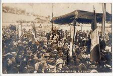 CARTOLINA 1930 GENOVA IL CORTEO A QUARTO RIF 4536