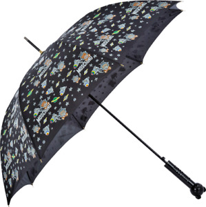 Moschino Umbrella Large Great size Teddy Bear in Space new with tags