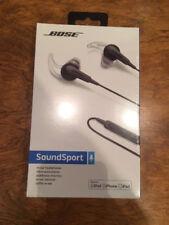 NEW SEALED Bose SoundSport In-Ear Headphones Apple Charcoal 741776-0010