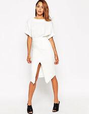 ASOS Women's Short Sleeve Knee Length Wiggle, Pencil Dresses