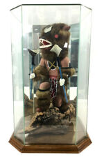 Paja Signed Kweo The Wolf Kachina W/ Display Lot 1039
