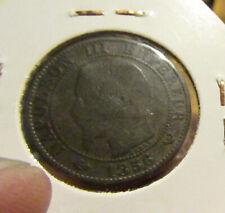 Frankrijk 5 centimes 1856 W
