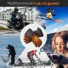 Electric Heated Gloves Thermal Hand Warmer Touchscreen Winter Outdoor Men Women