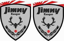Suzuki Jimny Ranger 4x4 sz3 sz4 decals sticker  70mm wing Decals Stickers