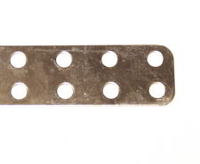 Meccano Part 280d Narrow Flat Girder 6 Hole Zinc