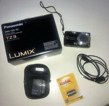 Panasonic-LUMIX-DMC-TZ3-Digital Camera BOX INSTRUCTIONS Complete Working!