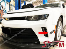 JPM Carbon Fiber Front Bumper Canards Splitter Mould Fins 2pcs for Camaro 6th SS
