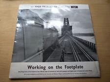 Peter Handford Footplate Recordings Argo 1964 Vinyl LP