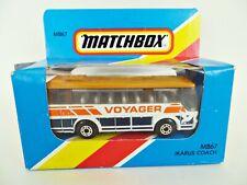 MATCHBOX MB67 'IKARUS BUS/COACH, VOYAGER'. WHITE/ORANGE. MIB/BOXED