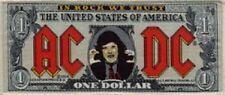 """Ac/Dc """"Dollar Rojo Logo """" Parche/Parche 600816#"""