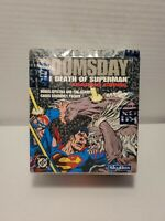 1992 DC Skybox -  Doomsday Death Of Superman - Factory Sealed Box Trading Cards