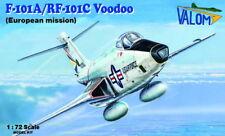 Valom 1/72 McDonnell f-101a/rf-101c Voodoo (EUROPEA Misión) #72119