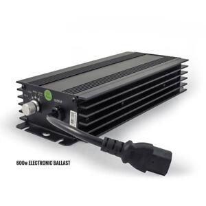 LUMII BLACK 600W  ELECTRONIC DIGITAL DIMMABLE  BALLAST, HYDROPONICS