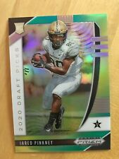 JARED PINKNEY 2020 PANINI PRIZM GREEN YELLOW REFRACTOR ROOKIE RC FALCONS SP /249