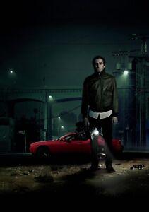 NIGHTCRAWLER Movie PHOTO Print POSTER Textless Film Art Jake Gyllenhaal LA 004