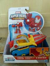 Playskool Heroes Marvel Super Hero Repulsor Drill Car Playset & Iron Man Figure