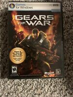GEARS OF WAR Games for Windows PC DVD Microsoft Game Studio EPIC GAMES - Rare