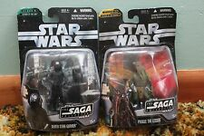 Star Wars The Saga Collection Death Star Gunner & Poggle the Leser