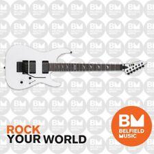 ESP LTD M-1000 Electric Guitar Ebony Snow White M1000- LM-1000ESW - Brand New