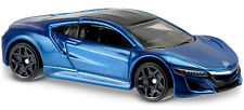 Hot Wheels 2016 Then and Now '17 Acura NSX Blue First Edition DHN99 Short Card