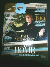 GQ Magazine UK September 2020 Paul McCartney  (new)