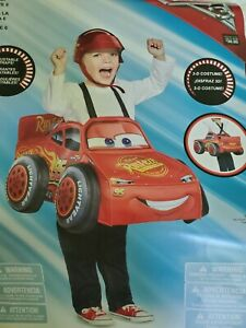 Disney Pixar Cars Lightning McQueen 3D Toddler Costume