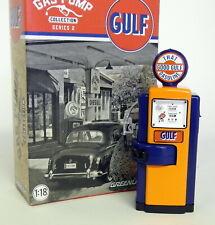 Greenlight 1/18 Scale - Gas Pump - Gulf -  For Diecast Model Car Display