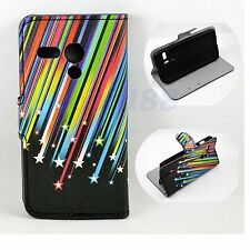 Meteor Leather Wallet Magnetic Flip Phone Pouch Cover Case For Motorola Moto G
