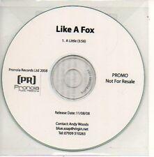 (907D) Like A Fox, A Little - DJ CD