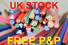 50MM 3D NAIL ART POLYMER CLAY FIMO CANES STICK RODS STICKERS TIPS DECORATION