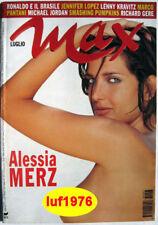 Max-'98-ALESSIA MERZ,Jennifer Lopez,Eric Cantona,Marco Pantani,Brad Mehldan,Gere