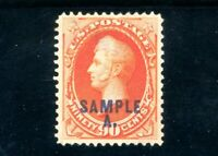 USAstamps Unused VF-XF US Perry Sample Scott 191s MNG HR