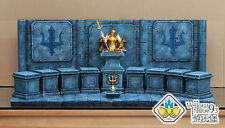 Saint Seiya Myth Cloth Scene Poseidon + 9 Chancel + 1 Base