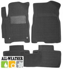 All Weather Floor Liner Velour Carmats Rubber Backing Fit Chery Tiggo 2 2017-