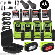 Motorola Talkabout T605 H2O Walkie Talkie 4 Pack Set Two Way Radio Waterproof