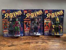 Marvel Legends retro spider-man wave Peter P Parker, Green Goblin, & Electro
