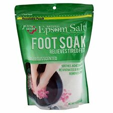 Natural Epsom Salt FOOT SOAK (Eucalyptus) 16oz (454G)