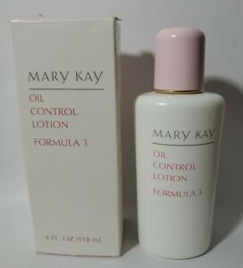 Mary Kay Oil Control Lotion Formula 3 # 1068 NEW IN BOX