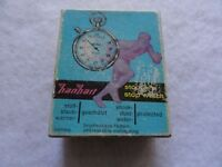 Hanhart Stop Watch Case with Instructions - Case only, no stopwatch included